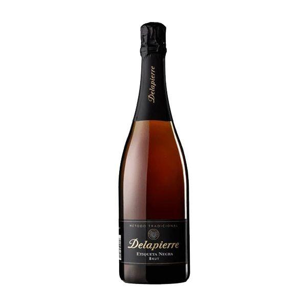 Delapierre-Etiqueta-Negra Brut-Nature-Botella-75cl-5sentidos