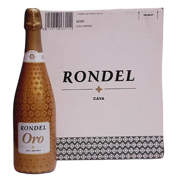 Rondel_Oro_Semi_Seco_CAja_de_6_Botellas_de_75_CL