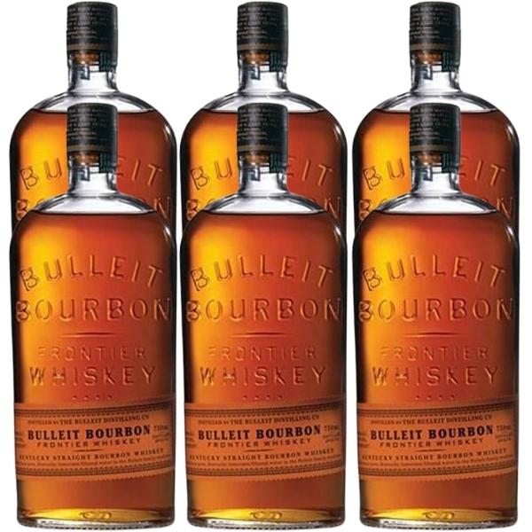 Bulleit_Bourbon_Caja_de_6_Botellas_de_70_CL