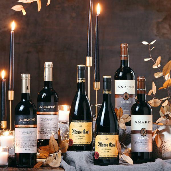 Estuche-Regalo-navidad-6-botellas-vino-tinto-RIOJA-RESERVA-111R