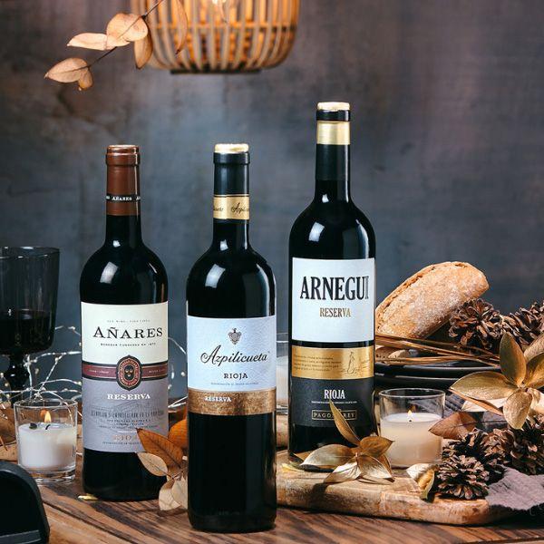 Estuche-Regalo-navidad-Botellas-vino-tinto-RIOJA-RESERVA-104R