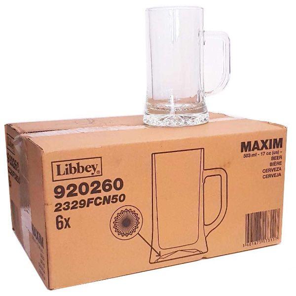 Comprar-online-Jarras-de-Cerveza-MAXIM-Caja-de-6-unidades-de-50-cl