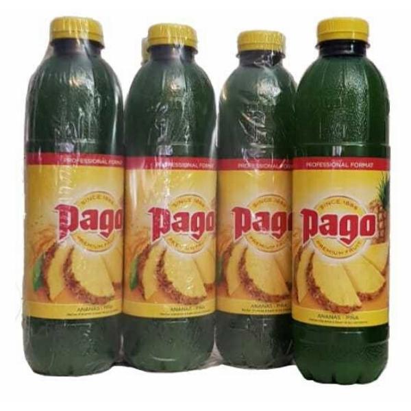 Pack Zumo Pago de Piña 1L