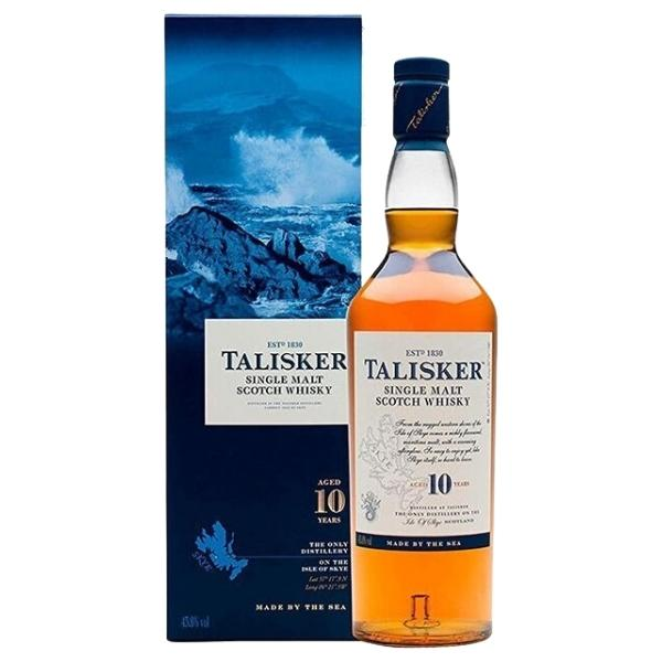 TALISKER SINGLE MALT 10 AÑOS Botella