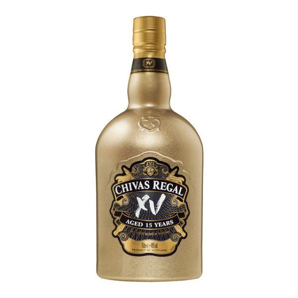Whisky_Chivas_Regal_XV_Gold_bottle_70_Cl
