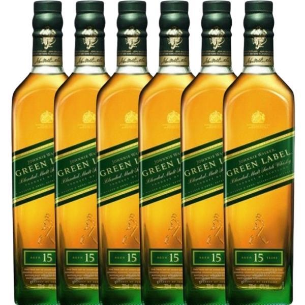 whisky-Johnnie-Walker-Green-Label-15-años-caja-de-6-botellas-de-70-CL