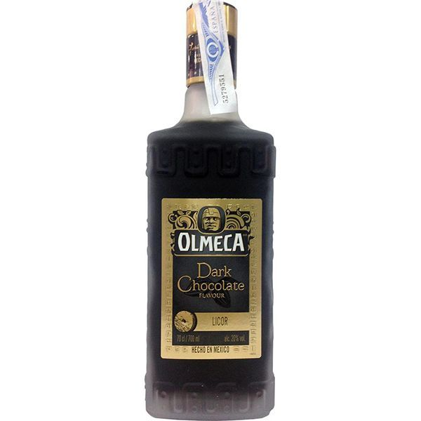 91110-OLMECA DARK CHOCOLATE BOTELLA DE 70 CL