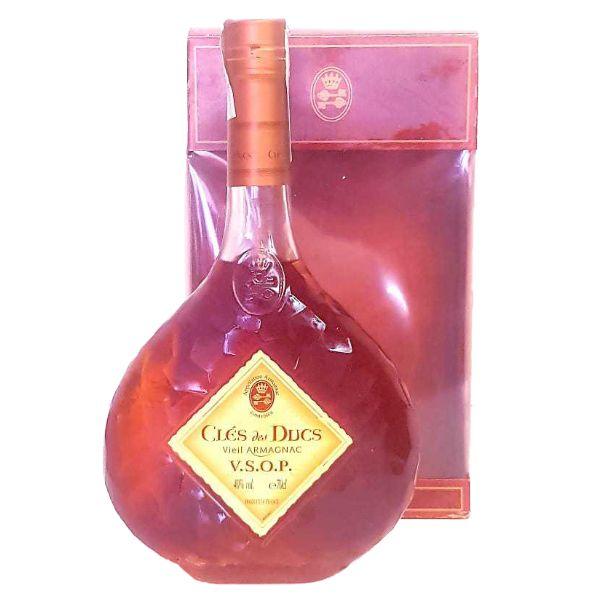 Cles-Des-Ducs-Armagnac-VSOP-Botella+Estuche