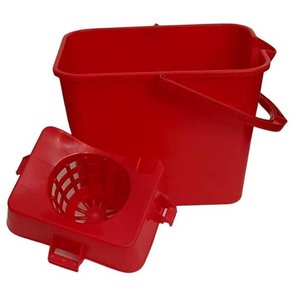 Cubo de limpieza con escurridor 17 litros