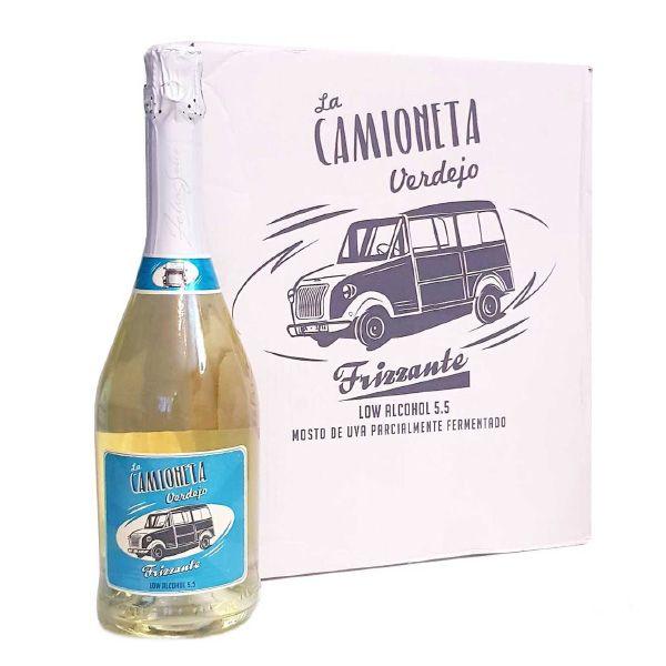 La-Camioneta-Verdejo-Frizzante-Caja-de-6-Botellas-de-75-cl