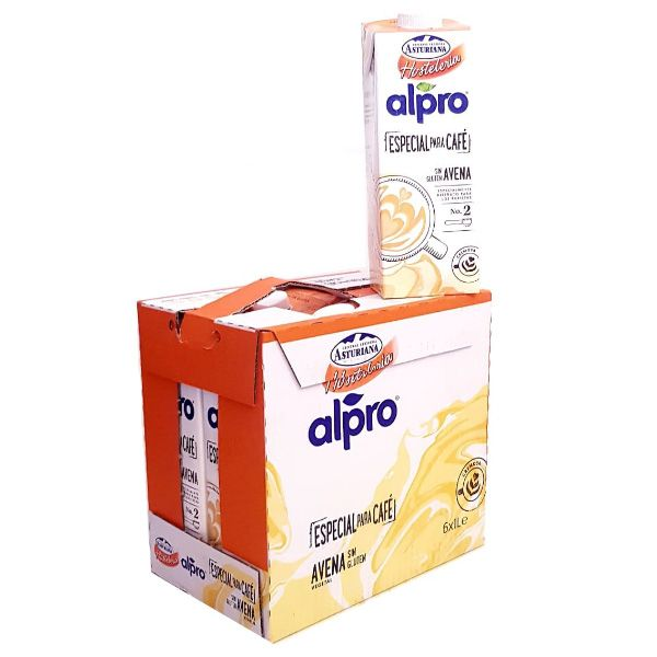 Leche-de-avena-alpro-de-central-lechera-asturiana-Pack-de-6-bricks-de-1-litro
