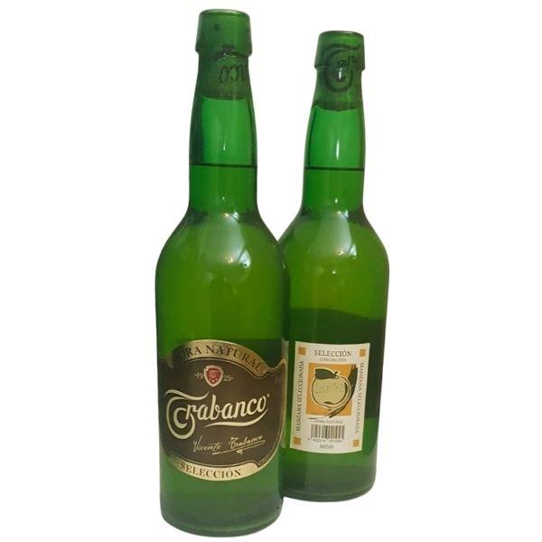 Botellas Sidra Natural Trabanco 75 cl Retornable