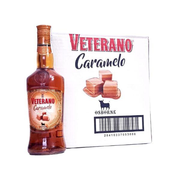 Veterano Caramelo Caja y Botella