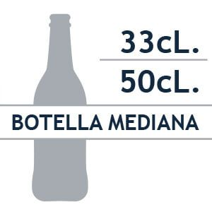 Botella mediana