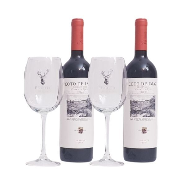 Coto-de-Imaz-Reserva-do-Rioja-2-botellas-con-2-copas-regalo-5sentidos