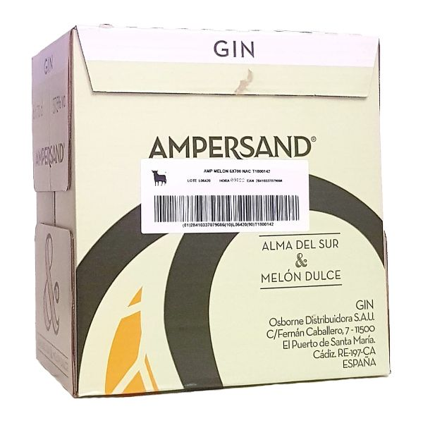 Ampersand_Melon_Caja_6_Botellas_70cl