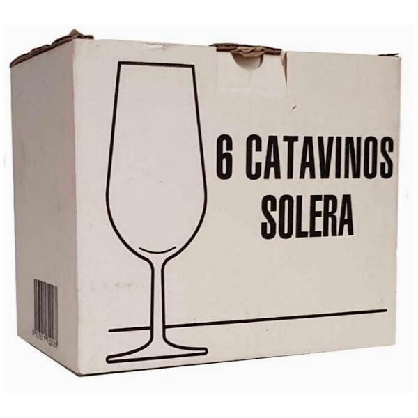 Caja de 6 catavinos