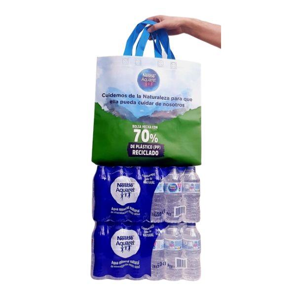 foto de Promoción 2 cajas de Aquarel 50 cl + bolsa ecológica