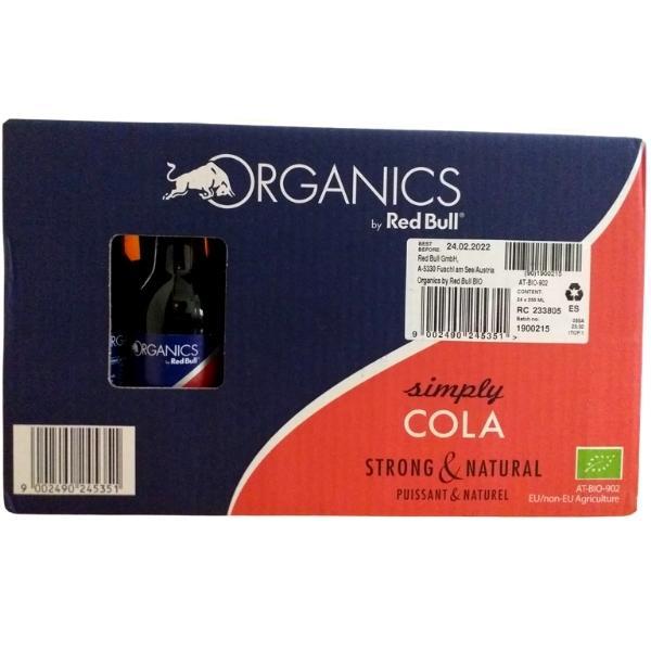 Organics-Red-Bull-Simply-Cola-caja-de-24-Botellas-de-25-cl