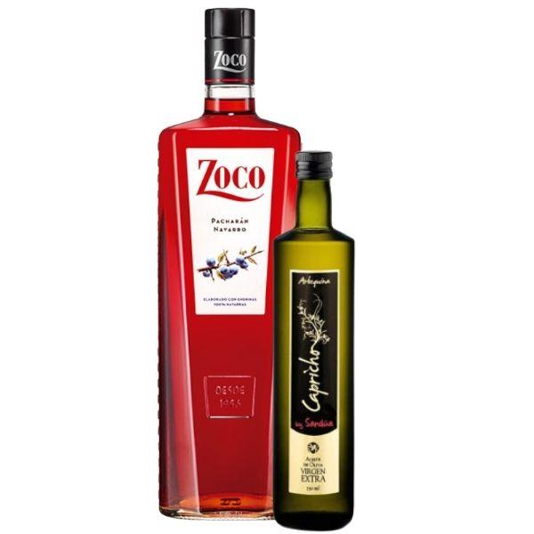 Botella_de_Pacharan_con_Botella_de_Aceite_Capricho_1