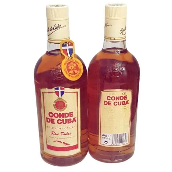 2 Botellas de ron conde de cuba elixir
