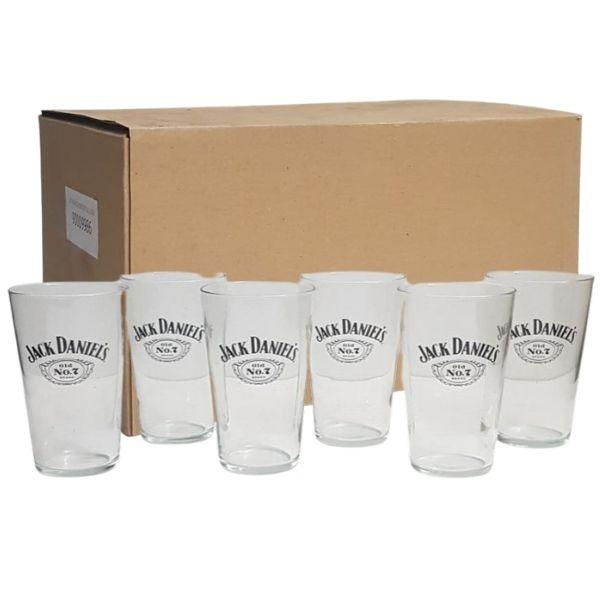 Caja de Vasos Promoción Jack Daniel's