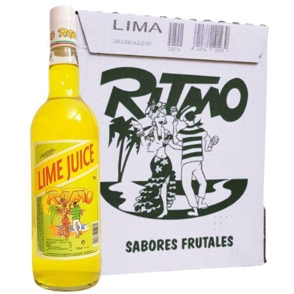 Ritmo_Lime_Juice_caja_de_6_botellas_1_L_