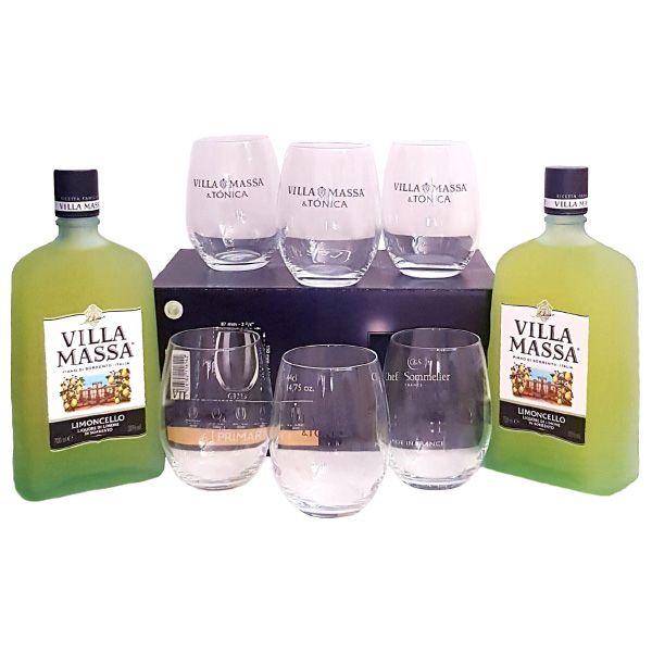 Promocion-2-botellas-Villa-Massa-Limoncello-mas-gratis-6-vasos-tonica