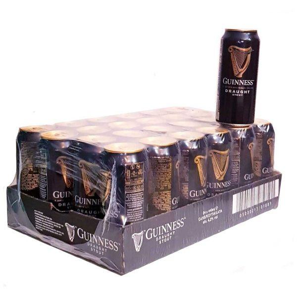Compra-Cerveza-online-Negra-Guinness-Draught-Caja-24-latas-de-44-cl